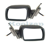 02-06 Bmw X5 Rear View Mirror Assembly Power W/memory And Puddle Light Set Pair