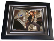 Harrison Ford Han Solo Signed 11x14 Framed Photo Star Wars Autograph Beckett Loa