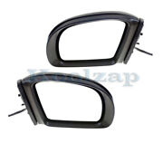 06-10 Benz R-class Mirror Power Folding W/memory Signal And Puddle Lamp Set Pair