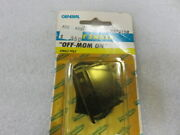 I5a General Marine Rk40150 Rocker Switch Off-mom On Oem New Factory Boat Parts
