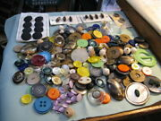 200+ Antique Vintage Sewing Buttons