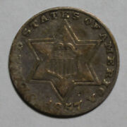 1857 3 Cent Silver Wr236