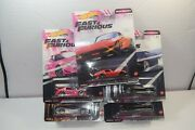 2020 Hot Wheels 164 Fast And Furious Quick Shifters Set Of 5 Model Car As Picture