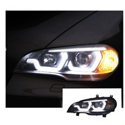 For Bmw X5-e70 Led Headlights Led Drl 2007-2013 Replace Oem Halogen Sequential