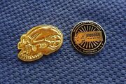 Lot Of 2 Voodoo Tactical Challenge Coins.  Very Rare Challenge Coin