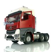 Lesu Rc Metal 66 Chassis Hercules Painted Actros Cabin 1/14 Tractor Truck Motor