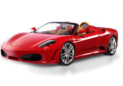 Ferrari F430 Spider Red On Tan By Hot Wheels Elite Edition 118 Hard To Find