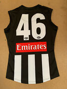 Collingwood Magpies Afl Player Home Match Issue Official 46 Jumper Pendlebury