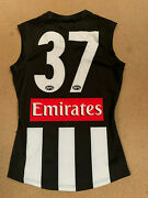 Collingwood Magpies Afl Player Home Match Issue Official 37 Jumper Pendlebury