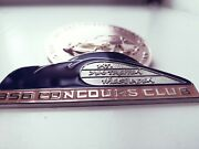 Gift Set Of 2x German Members Grill Badges Compatible With Porsche 356 A B C