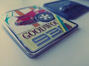 Gift Set Of 2x Historic Members Grill Badges Compatible With Porsche 930 -911