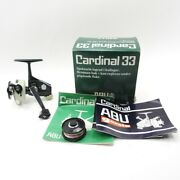 Abu Cardinal 33 Spinning Reel. W/ Box And Papers. Made In Sweden.