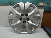 Wheel Cover Hubcap Vin P 4th Digit Limited Fits 12-16 Cruze 240416