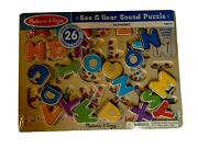 New Melissa And Doug See And Hear Alphabet Sound Puzzle - 26 Pieces 0340