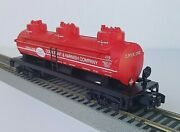 American Flyer 48228 Nasg Cook Paint 3d Tanker C/8 Condition, Lionel 2002 Nib