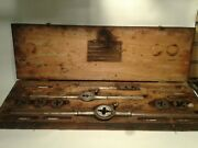 Antique Champion Blower And Forge Industrial Tap And Die Set Lancaster Pa