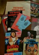 The Rocky Horror Show Collection Rare Collectible Theater Programs Books