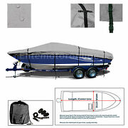 Crownline 180 Br Without Extended Swim Platform Trailerable Fishing Boat Cover
