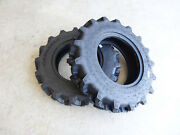 Two 7-14 Carlisle Farm Specialist R-1 6 Ply Tractor Tires 570000 Compact 4wdand039s