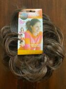 New Pop By Hairuwear The Style Maker Wrap Hairpiece Scrunchie Chocolate Brown