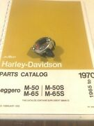 1965 Harley Aermacchi M-50cc And M65cc Horn And Headlamp Switch 71502-65p Amf