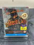 Zombieland Blu-ray Steelbook Play Exclusive Uk Rare, New/sealed