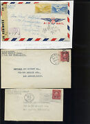 Canal Zone Covers And Post Cards Lots Of Wwii Era Material Lot 294