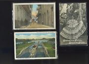 Vintage Lot Of 25 Canal Zone And Republic Of Panama Post Cards Lot 731