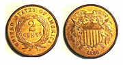 1868 2c Nice Color Two Cent