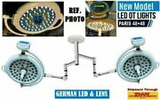 New Led Ot Lights Surgical Operation Theater Medical Device 48+48 Ceiling Light