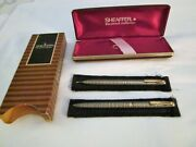 Sheaffer Imperial Solid Sterling Silver Vintage Set - Perfect Never Used