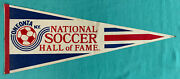 Oneonta Ny National Soccer Hall Of Fame – Vintage 1-sided Pennant 29.5x12