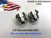An20 20 An Male Billet 6061t6 Aluminum Weld On / Weld In Fitting Bung - Qty 100