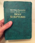 New World Translation Bible Cover, Spanish Or English, Jehovah's Witness