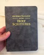 New World Translation Bible Cover, Gray, English Or Spanish, Jehovah's Witness