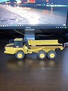 Vintage Cat D250e Dump Truck Nzg Germany 150 Scale Toy/collectible