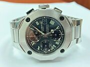 Baume And Mercier Riviera Automatic-self-wind Chrono 65600 No. 5057342 Menand039s Watch