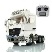 Lesu Metal 66 Chassis Radio Light Hercules Actros Cabin 1/14 Rc Tractor Truck