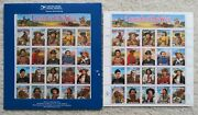 Legends Of The West Recalled Error Sheet 2870 29c Stamps And Fixed Sheet - Mnh