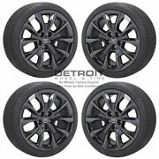 19 Cadillac Cts Pvd Black Chrome Wheels Rims And Tires Oem Set 4 2014-2019 4751