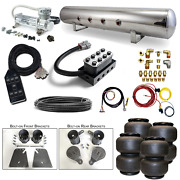 58-64 Impala Airbag Kit - Stage 2 - 3/8 Electric Fbss Air Ride System Bags