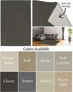 Clover - 1/2 Thick 60oz Soft And Cozy Area Rugs And Runners
