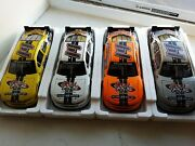 Lionel Racing 14 Diecast Crazy Forum 2014 Mustang Set Of 4 Yellow White ...