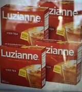 5x 100 Ct Luzianne Iced Tea Count Bag Lot Of Boxes 2 3 4 96 Make Southern Sweet
