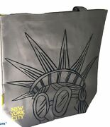 Starbucks New York City Statue Of Liberty Canvas Tote Bag Nyc Collection New