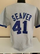 Tom Seaver's Personally Worn Signed Auto Jersey From Baseball Film W/ Mantle-jsa