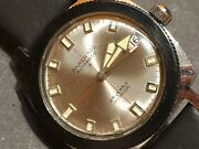 Vintage Diver Meister Anker Automatic 25 Jewels Autorotor Ddr Watch Very Rare