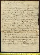 Lt Governor Jonathan Trumball Sr Penned And Signed 1763 Connecticut Colony Subpena