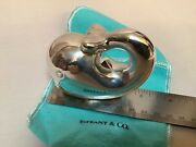 And Co Sterling Silver Happy Whale Baby Rattle