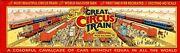 Walthers The Great Circus Train 3rd Release 1967c Car 49 And 62 New In Box M478
